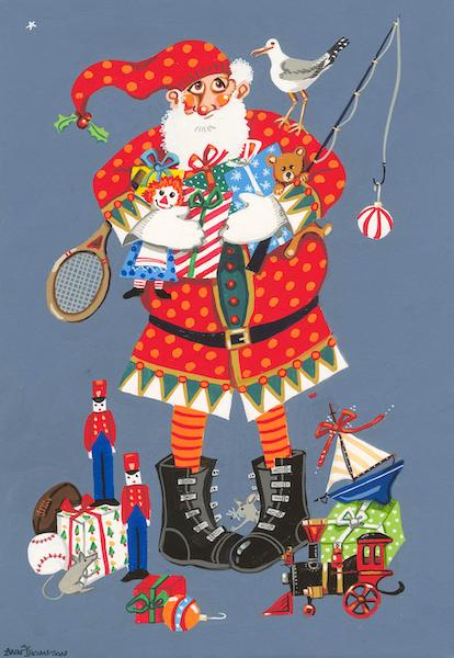Boot Santa-