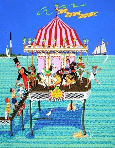 Fancy's Flying Horses Carousel-