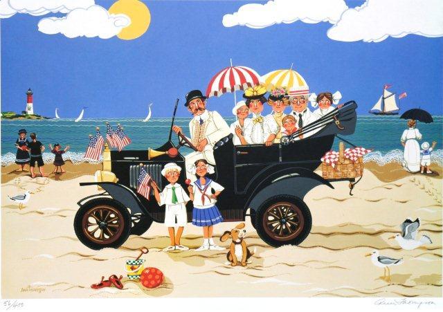 Beach Car-