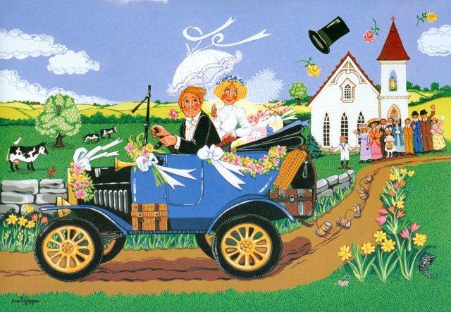 Off to the Honeymoon-