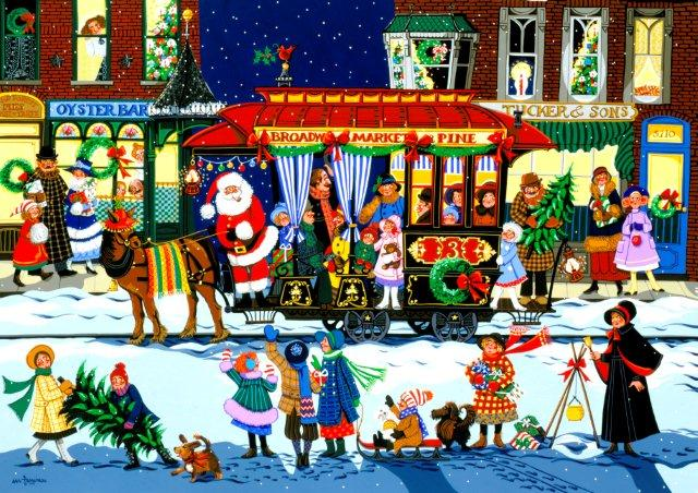 Christmas Trolley-