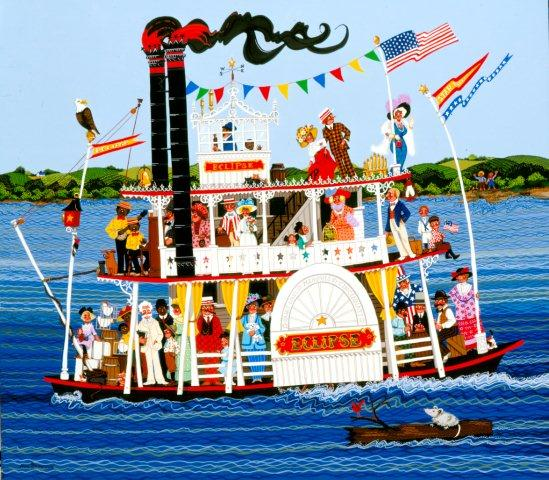 Eclipse Ferry Boat-