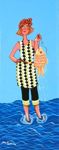 Lady with a Yellow Fish-