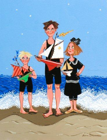 Kids with Boats-