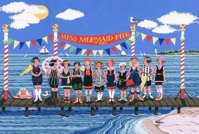 Miss Mermaid Pier-