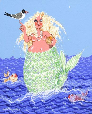 Plump Mermaid-