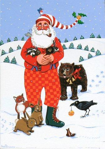 Snow Santa-