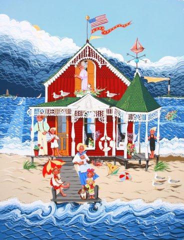 Grandmas Red House-
