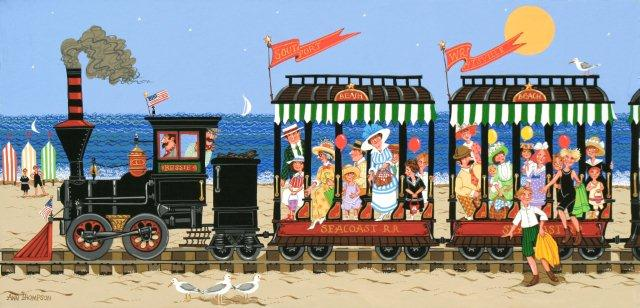 Beach Trolley-